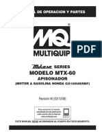 MTX60 Rev 0 Spanish Manual DataId 18441 Version 1