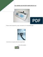 Guía Rápida Para Bomba de Infusión Medix Pro Sp- Hpf