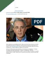 Detector de Mentiras a Uribe