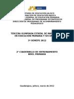 Cuadernillo Problemario y Soluciones Etapa de Zona1 1