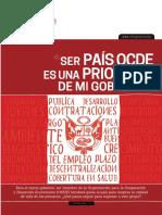"""""""Ser país OCDE es una prioridad de mi gobierno"""""""