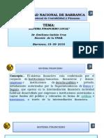 Diapositivas Conferencia Sistema Financiero Local