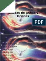 Hierbas de Oshas