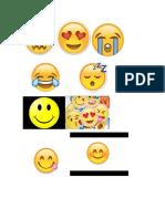 Emoticones tarea