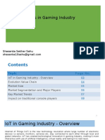 IoT in Gaming Industry- Report