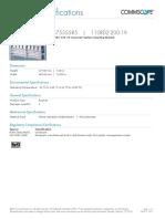 2.17.2 Bracket Para Montaje de 2 Bloques 110 en Rack d 19_ 110rd2-200-19