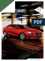 Mazda3 Digital Brochure