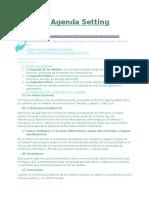 La Agenda Setting - Informe