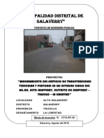 Perfil Calles Diversas - Salaverry