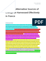 How Can Alternative Sources of Energy be Harnessed Effectively in France