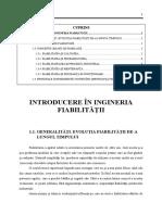 Curs01_Introducere in Ingineria Fiabilitatii I