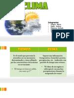 CLIMA EXPOSICION