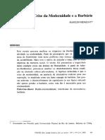 MENEGAT, Marildo. A crise da modernidade e a barbárie.pdf