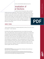The (Re)Nationalization of Congressional Elections