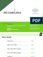 Understanding ISO 134852016