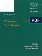 Nietzsche, Friedrich - Writings from the Early Notebooks (Cambridge, 2009).pdf