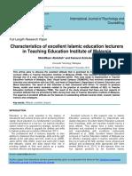 KamarulAzmiJasmi2014_CharacteristicsofExcellentIslamicEducationLecturers