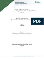U1,2,3 - Tecnologías de La Información y Las Comunicaciones