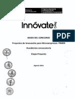 Bases y Anexos PIMEN-12_Etapa Proyecto
