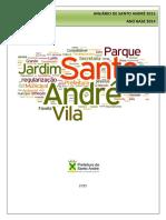 Anuario de Santo Andre 2015-Ano Base 2014