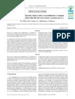 Efecto de La Fertilización Cálcica Sobre El Rendimiento y Tamaño de Fruto en Arándano Alto Del Sur (-Em-Vac