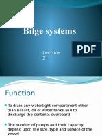 Lec 2 Bilge System