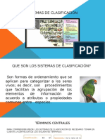 Clasificación Taxonómica de Linneo
