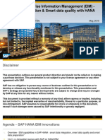1155 SAP HANA and EIM Smart Data Integration and Smart Data Quality With SAP HANA SPS09 at Intel (2)