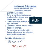 unit 2 operations of polynomials