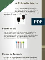 Detectores de Señal Fotoelectricos