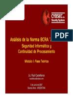 CYBSEC Analisis BCRAA4609 Teorica