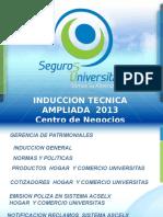 Induccion Tecnica Ampliada Febrero 2013