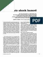Electric Shock Hazard