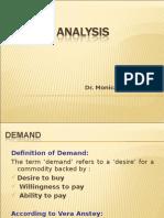 BE Demand Analysis