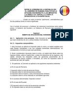 Convenio Ecuador Rumania