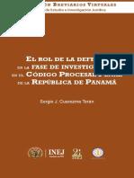 Breviario DERECHO PENAL PANAMEÑO