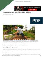 Crear Una ONG Exitosa en 10 Pasos