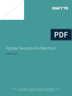 Whitepaper Egnyte Security Architecture