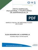 Marco Fiscal de Mediano Plazo (2014-2023) (Elsa Noguera de La Espriella)