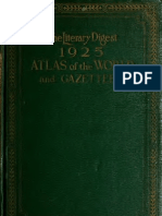 1925 World Atlas and Gazetteer