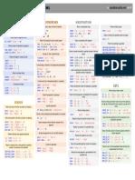 MySQL Cheat Sheet String Functions