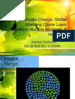 EVS Global warming, ozone depletion PPT