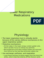 Lower Respiratory Medications(1)