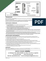 MANUAL Luz de Emergencia a LED COMPACTA Atomlux Modelo2045