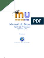 Moodle - Manual do professor