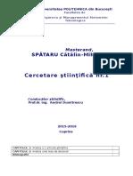 Model Cercetare Stiintifica 1