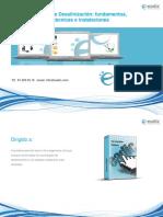 Curso de Desalinización Fundamentos Técnicas e Instalaciones
