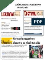 Importancia Económica Del Mar Peruano Para Nuestro País