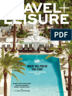 Travel + Leisure - January 2015  USA