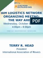 IAM Logistics Network Meeting
